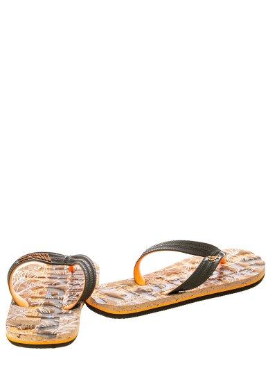 Men Flip Flops & Sandals MF310017A Khaki Rubber Superdry
