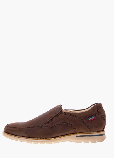 Men Moccasins 14206 DarkBrown Leather Callaghan