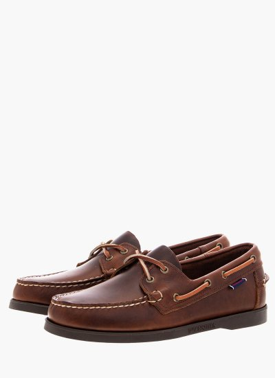 Men Sailing shoes L70000G0.B Brown Leather Sebago