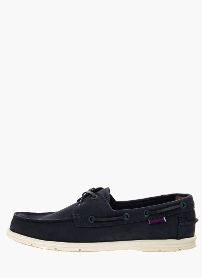 Men Sailing shoes L7000HK0 DarkBlue Leather Sebago