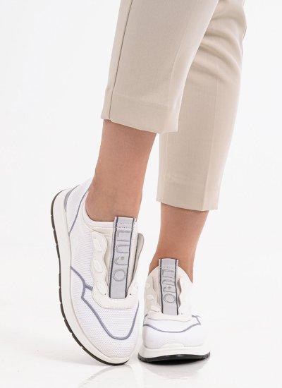 Women Casual Shoes Asia.04.Slip White LIU JO