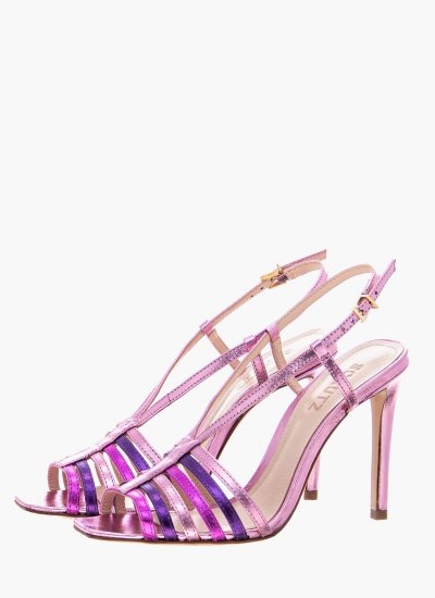 Women Sandal High S20744.0016 Pink Leather Schutz