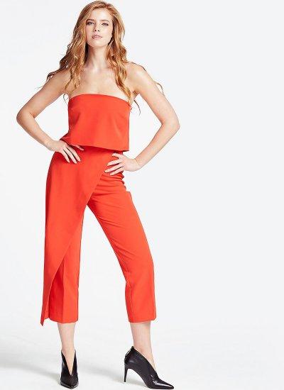 Catarina Orange Polyester Guess