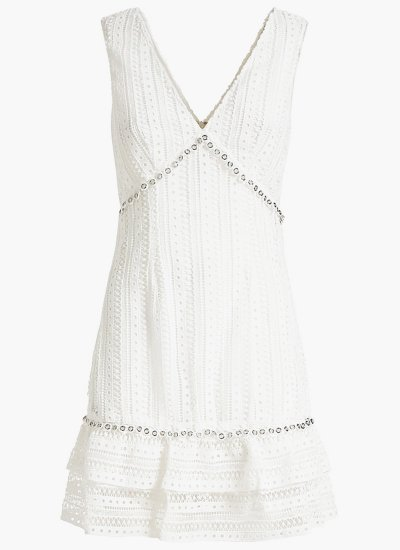 Leandra White Polyester Guess