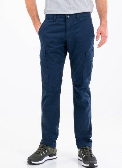 Men Pants A2CZH DarkBlue Cotton Timberland