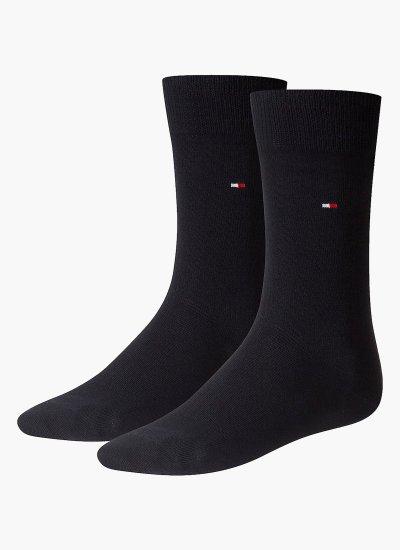 Men Socks Men.Sock DarkBlue Cotton Tommy Hilfiger