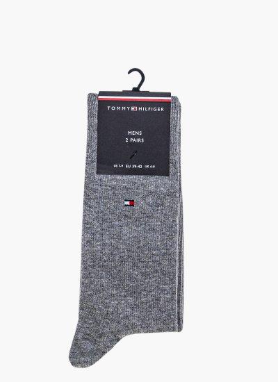 Men Socks Men.Sock Grey Cotton Tommy Hilfiger