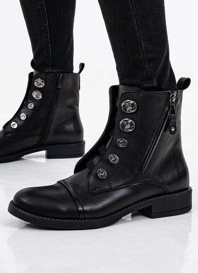 Women Boots 2045.132 Black Leather MF