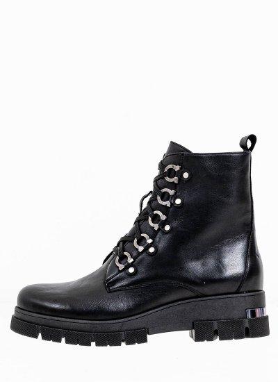 Women Boots 2045.8403 Black Leather MF