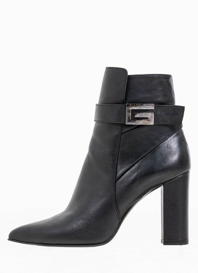 Women Boots 2047.7563 Black Leather MF