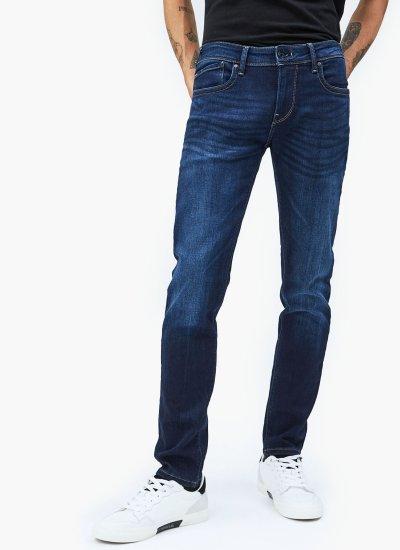 Men Pants Hatch.32 Blue Cotton Pepe Jeans