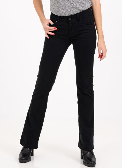 New.Pimilico Black Cotton Pepe Jeans