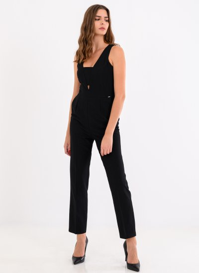 Peonia Black Polyester Pepe Jeans