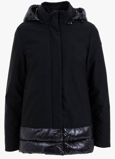 Women Coats - Jackets W0429C Black Polyester Geox