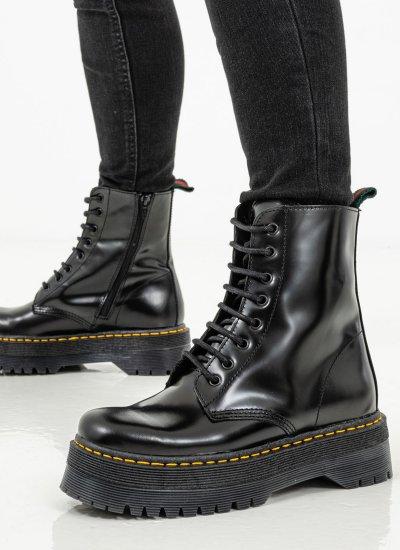 Women Boots 3475 Black Leather Alpe