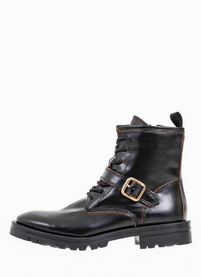 Women Boots 4074 Black Leather Alpe