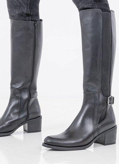 Women Boots 4204 Black Leather Alpe