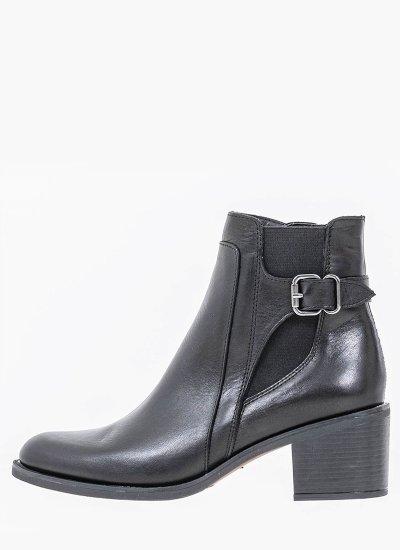 Women Boots 4205 Black Leather Alpe