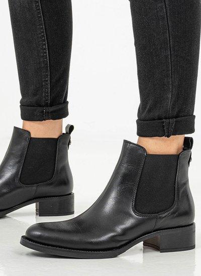 Women Boots 4236 Black Leather Alpe