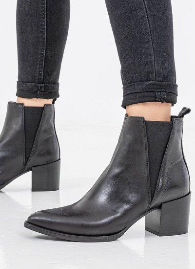 Women Boots 4264 Black Leather Alpe