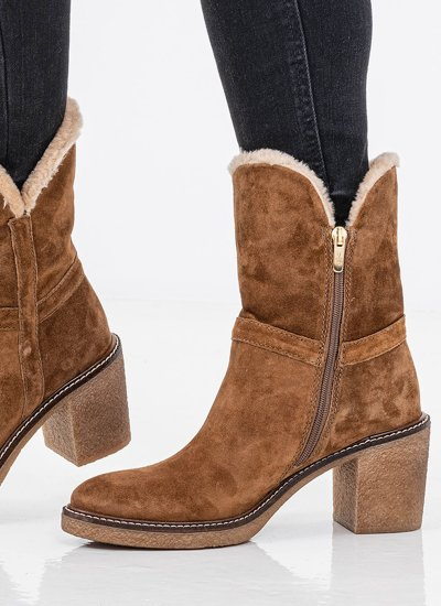 Women Boots 4394 Tabba Suede Leather Alpe