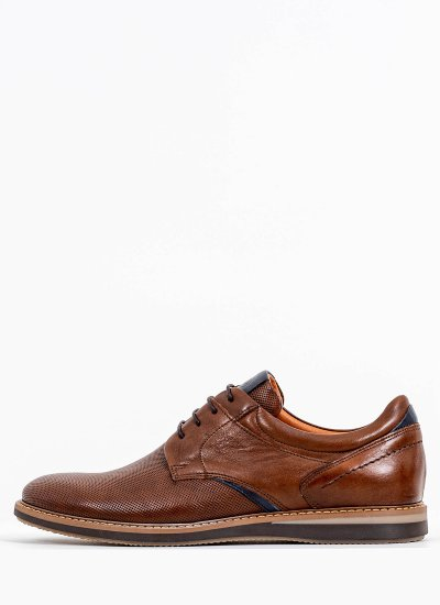 Men Shoes 2102 Brown Leather Damiani