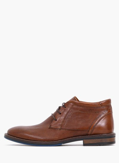 Men Boots 2252 Brown Leather Damiani