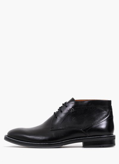 Men Boots 2253 Black Leather Damiani