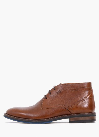 Men Boots 2253 Brown Leather Damiani