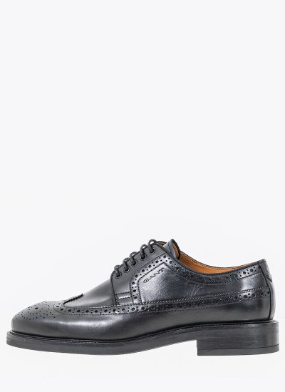 Men Shoes Flairville Black Leather GANT