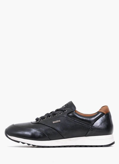 Men Casual Shoes 13614 Black Leather S.Oliver