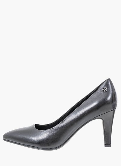 Women Pumps & Peeptoes Low 22401 Black Leather S.Oliver