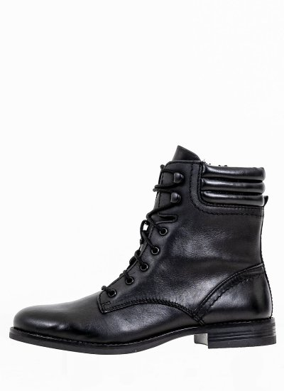 Women Boots 25101 Black Leather S.Oliver