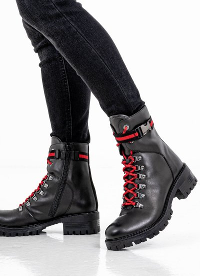 Women Boots 25202 Black Leather S.Oliver