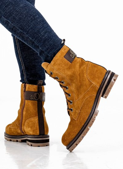 Women Boots 25204 Tabba Suede Leather S.Oliver