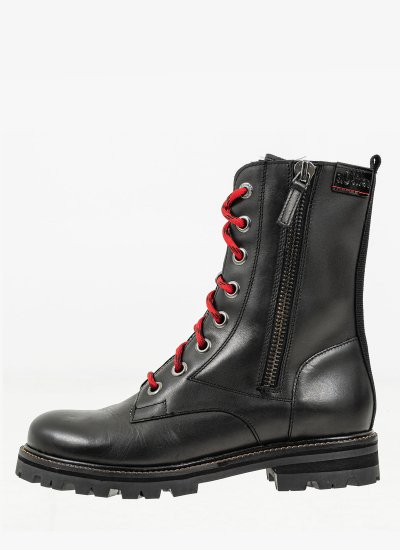 Women Boots 25223 Black Leather S.Oliver