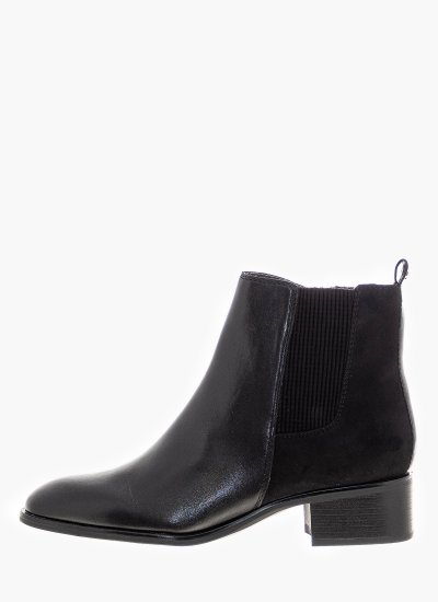 Women Boots 25321 Black Leather S.Oliver