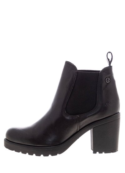 Women Boots 25410 Black Leather S.Oliver