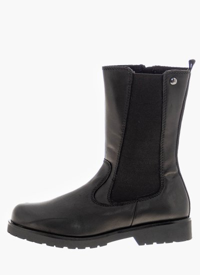 Women Boots 25448 Black Leather S.Oliver
