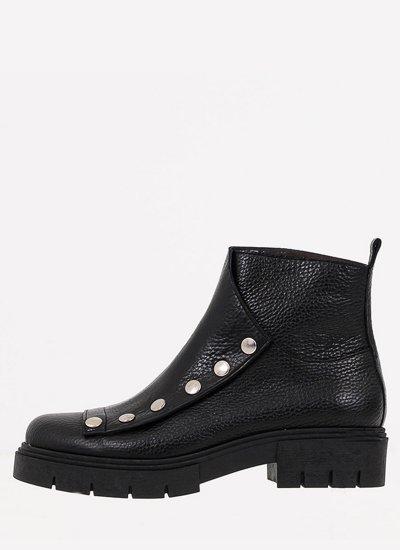 Women Boots 040 Black Leather B