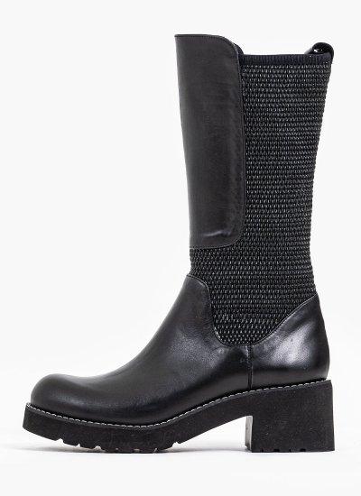 Women Boots 110 Black Leather B