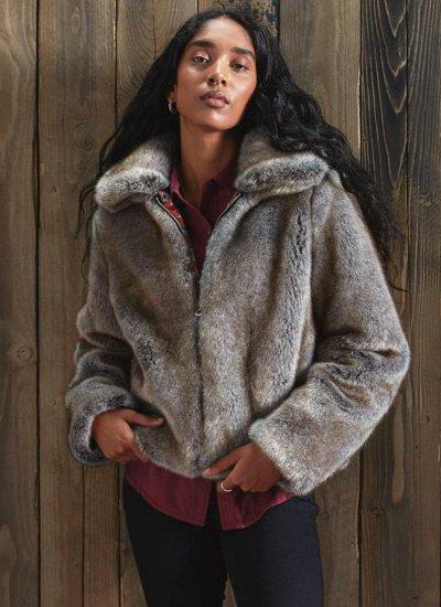 Women Coats - Jackets Boho.Jacket Grey Superdry