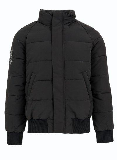 Men Jackets Everest.Bomber Black Polyester Superdry