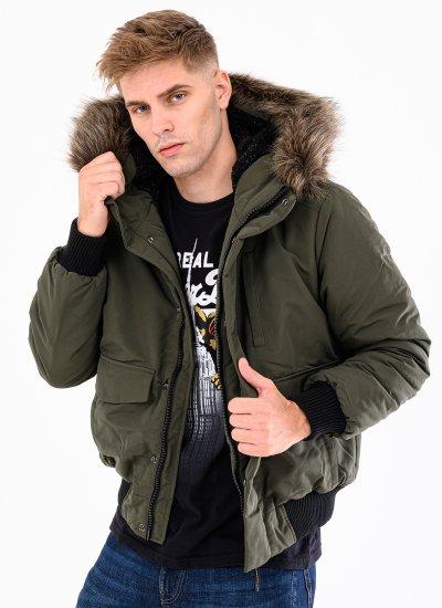 Men Jackets Everest Olive Polyester Superdry