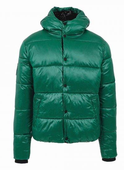 Men Jackets High.Shine Green Polyester Superdry
