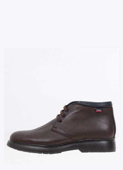 Men Boots 12604 DarkBrown Leather Callaghan