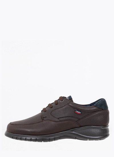 Men Shoes 12700 DarkBrown Leather Callaghan