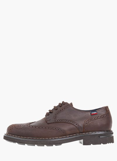 Men Shoes 16403 DarkBrown Oily Leather Callaghan