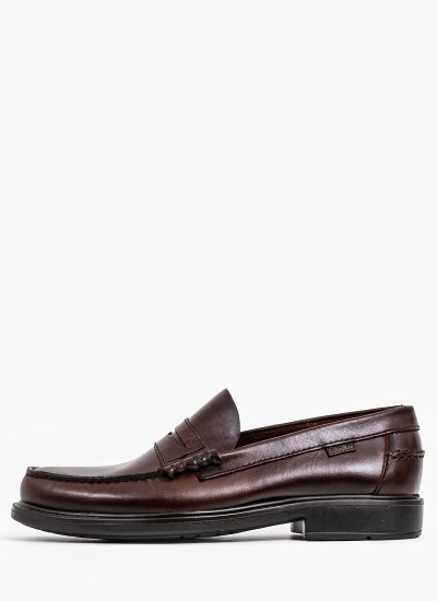 Men Moccasins 90000 Brown Leather Callaghan