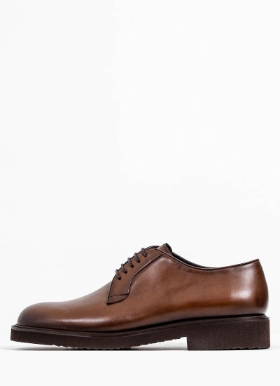 Men Shoes 5650 Brown Leather Philippe Lang